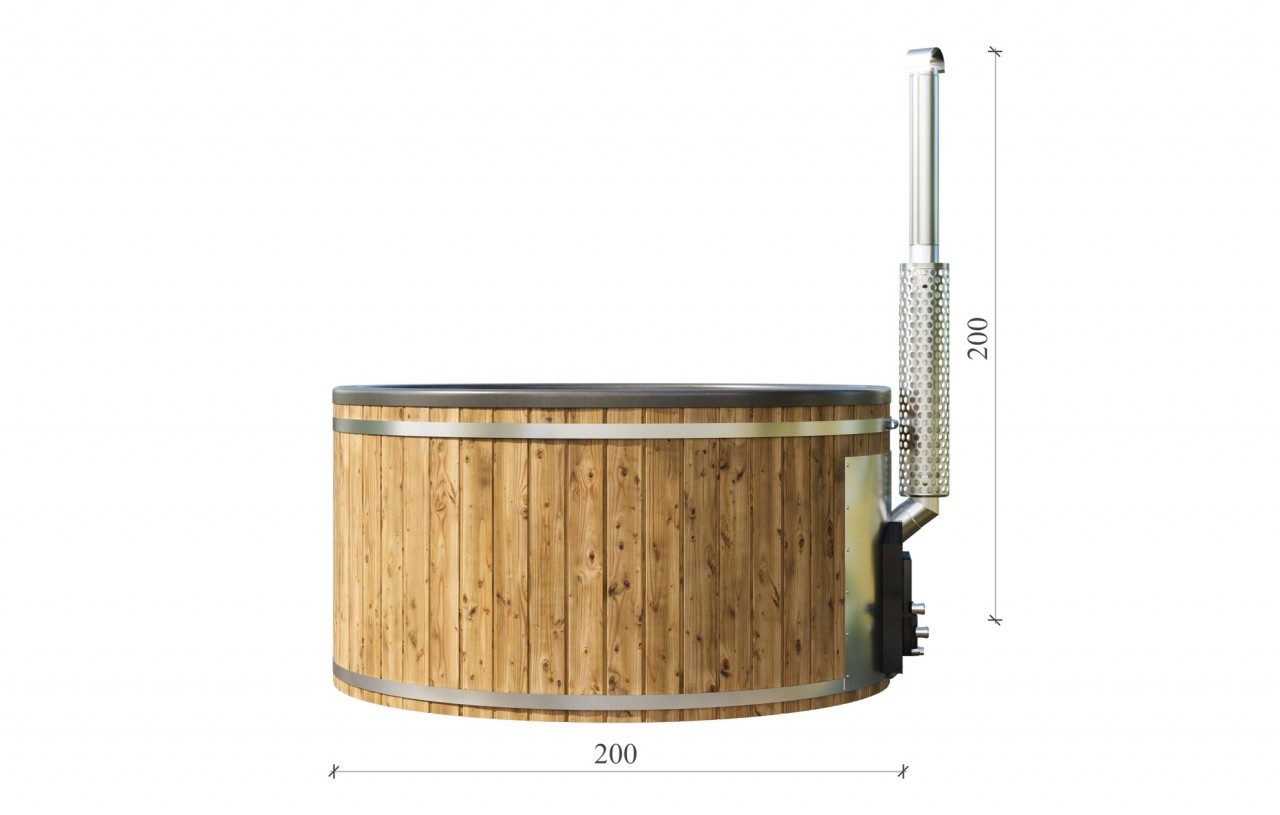 Nordic Spa - wooden hot tub